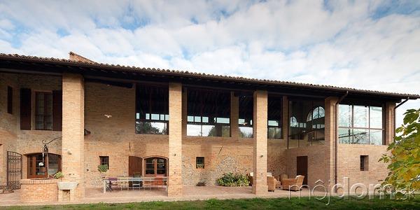 Starobylú taliansku farmu rekonštruovali