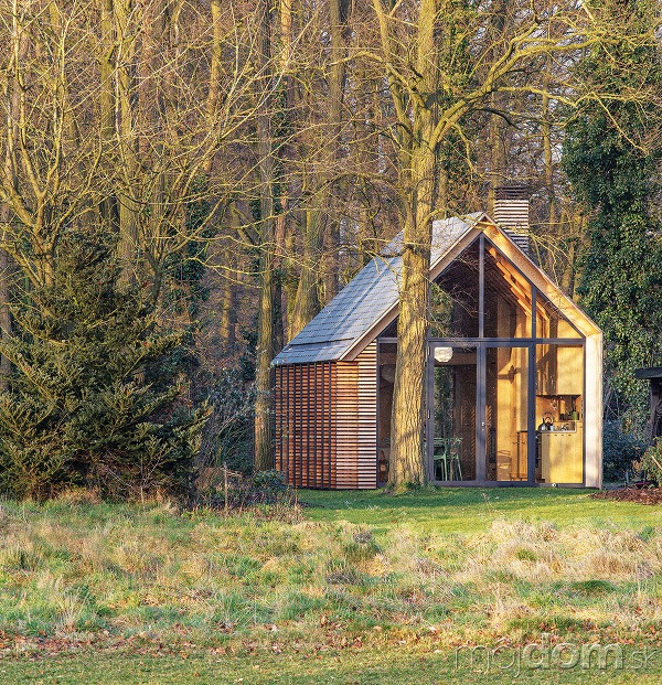 Archetypálny tvar domu jemne