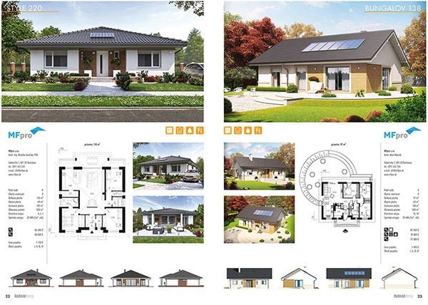 Rodinné domy jar/leto 2017