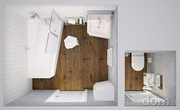Kúpeľňová matematika. Riešenie, kde