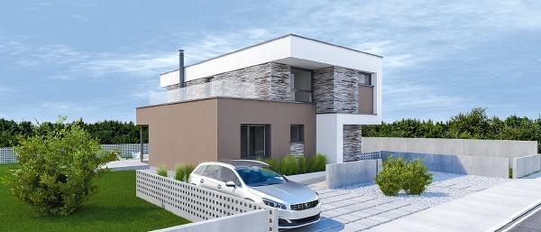 Projekt rodinného domu Marimba