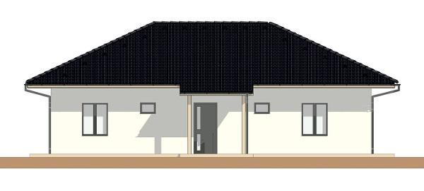 Projekt rodinného domu Bungalov