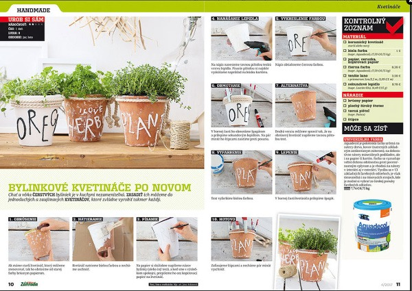 Nové vydanie časopisu Záhrada
