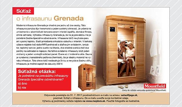 Súťaž o infrasaunu Grenada