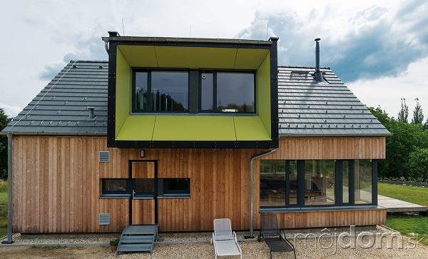 Montovaný dom na vidieku