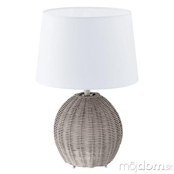 Prírodný prvok Vintage lampa
