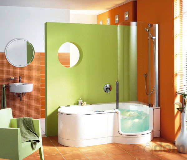 Badezimmer ideen mit badewanne