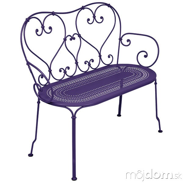 Oceľova lavička s ručne