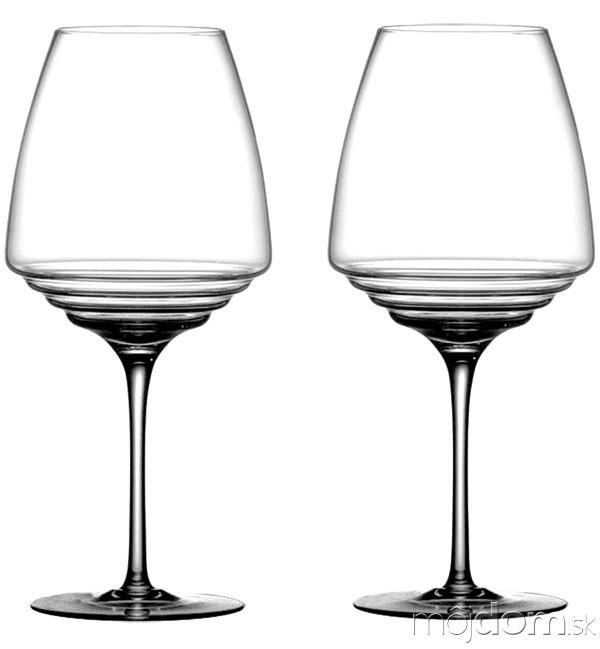 Poháre na červené víno