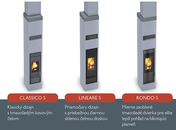 Vysoko energeticky efektívne komínové