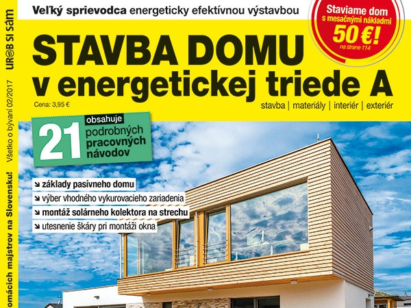 Nová publikácia Stavba domu