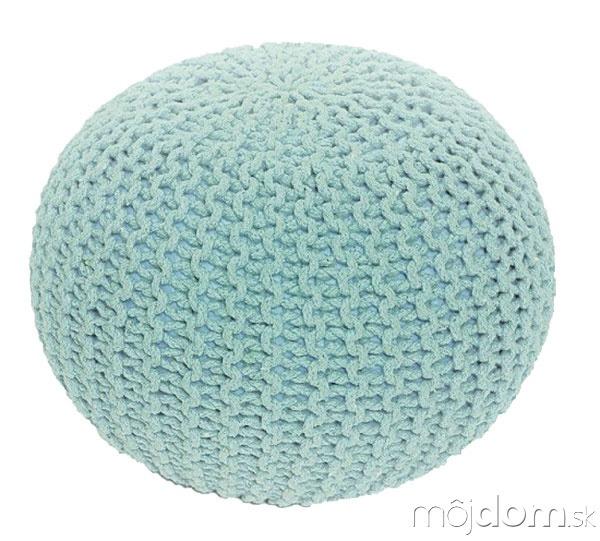 Pletený taburet Gobi, bavlna,