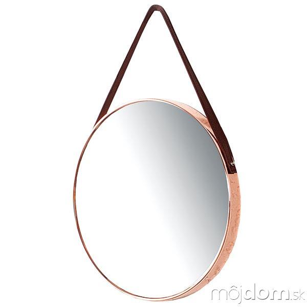 Nástenné zrkadlo Portait, kov,