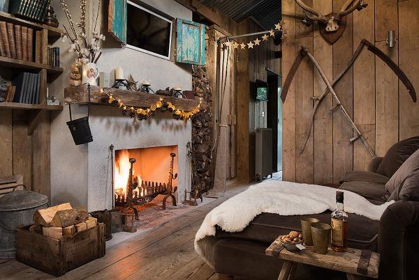 kr sne zrekon truovan chata rustik lny p vab uprostred pr rody. Black Bedroom Furniture Sets. Home Design Ideas