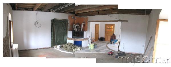 Rekonštrukcia obytnej časti vidieckeho