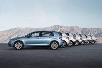 VW Golf - vývoj