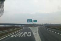 Výjazd z diaľnice Jarovce-Wien