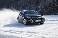 Opel Winterfahrtraining Thomatal 2014