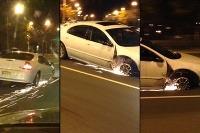 Vodička jazdila bez pneumatiky
