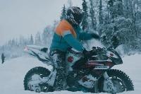 Motorkar na snehu...