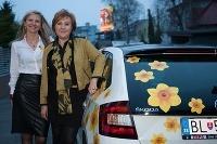 IMPA Dámsky klub so značkou ŠKODA v žltom šate narcisov _ Centrum pomoci Ligy proti rakovine bolo hostiteľom dámskeho klubu