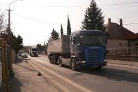 Tranzitná doprava v Šali