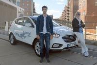 Hyundai ix35 Fuel Cell - 2383 km za 24 hodín