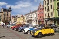 Citroën 2CV v poľskom meste Toruň na svetovom zraze