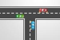 Poznáte dopravné predpisy - vyriešte túto križovatku