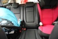 Detské sedačky - test ÚAMK