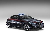 Alfa Romeo Giulia Quadrifoglio Verde Carabinieri 2016