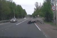 Nehoda motorkár vs autá