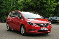 Opel Zafira - facelift