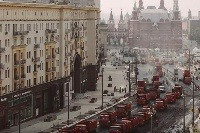 Oprava Tverskej ulice v Moskve