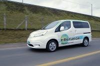 Nissan s palivovým článkom na etanol