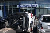 Mercedes náraz, nehoda, rekord