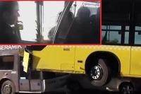 Vodic autobusu napadnuty pasažierom