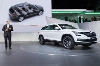 Škoda KodiaQ - predstavenie v Paríži