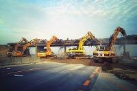 Demolácia mosta nad diaľnicou D1