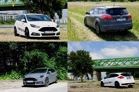 Ford Focus ST kombi vs hatch