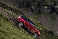 Range Rover Sport downhill