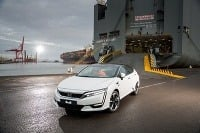Honda Clarity Fuel Cell prišla do Európy