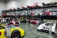 Toyota Automobile Museum motorsport corner