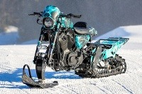 Harley-Davidson Snow Drag