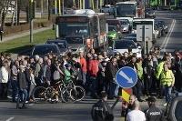 Prešovčania zablokovali tri priechody