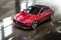 Mercedes A Sedan koncept 2017
