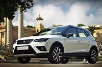 SEAT ARONA Barcelona photo shoot 2017