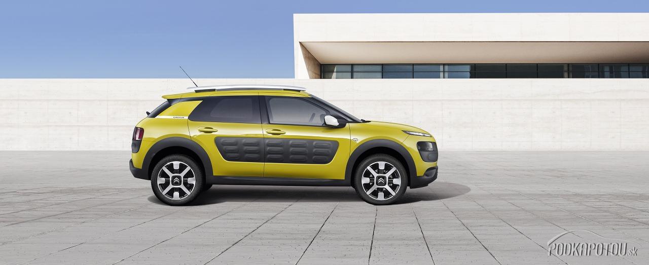 Citroën C4 Cactus je ako kaktus: je iný a piť sa mu nechce