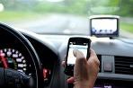 Písanie správ pri šoférovaní