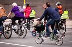 Cyklisti Ilustračné foto